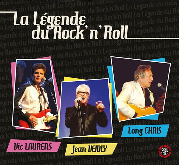 Digipack La Légende du Rock n Roll - Jean Veidly Vic Laurens Long Chris