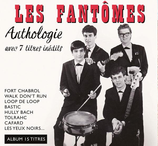 Digipack Les Fantômes Anthologie avec 7 titres inédits