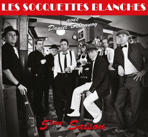 Digipack Les Socquettes Blanches - 5eme Saison - CD 12 titres