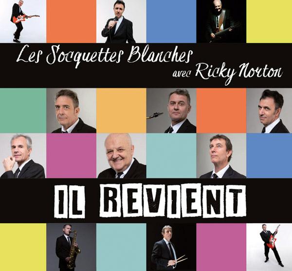 Digipack Les Socquettes Blanches - Il Revient - CD 13 titres