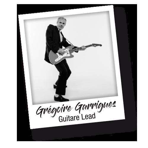 Grégoire Garrigues guitare et choeurs - Les Socquettes Blanches - Il Revient