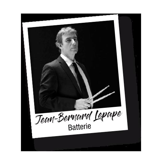 Jean-Bernard Lepape batterie - Les Socquettes Blanches - Il Revient