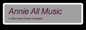 Annie All Music