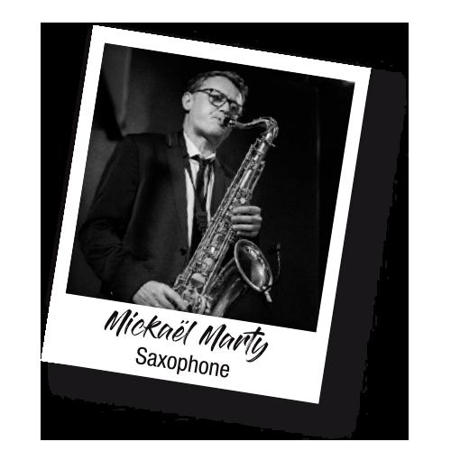 Mickaël Marty saxo - Les Socquettes Blanches - Il Revient