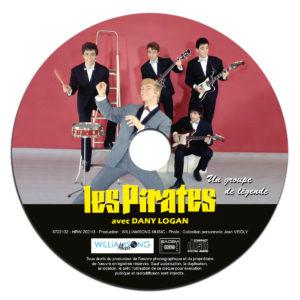 CD- Digipack Les Pirates avec Dany Logan et Jean Veidly - Un groupe de légende - Album