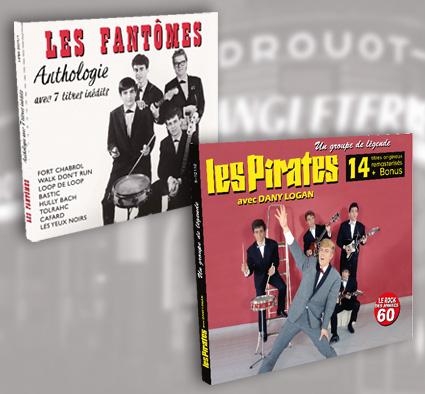 Duo Digipack Les Fantômes et Les Pirates avec Dany Logan